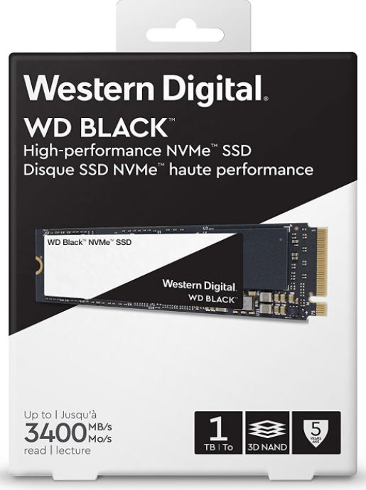 Western Digital Black 3D NVMe SSD