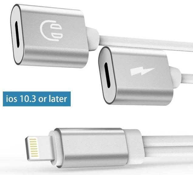 Best 2-in-1 Lightning Splitter (Adapter) for iPhone 7, 8 and