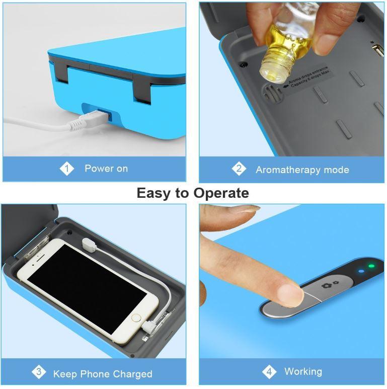 Kmesoyi UV Smartphone Sanitizer