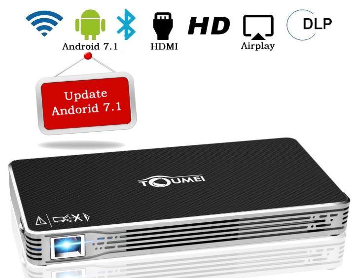 TOUMEI C800 Mini Portable Android Video Projector