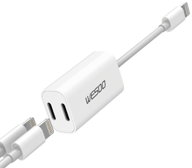 Wesoo iPhone Adapter Splitter