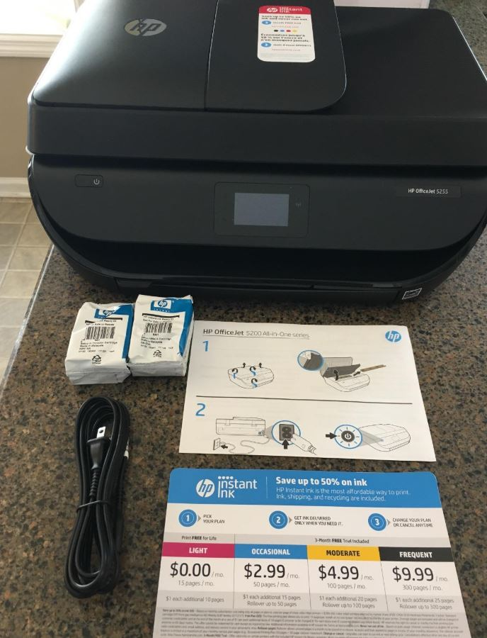 Review of the HP OfficeJet 5255 Wireless All-in-One Printer - Nerd Techy