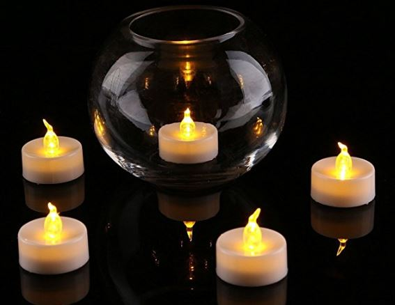 Homemory Flameless LED Tea Light