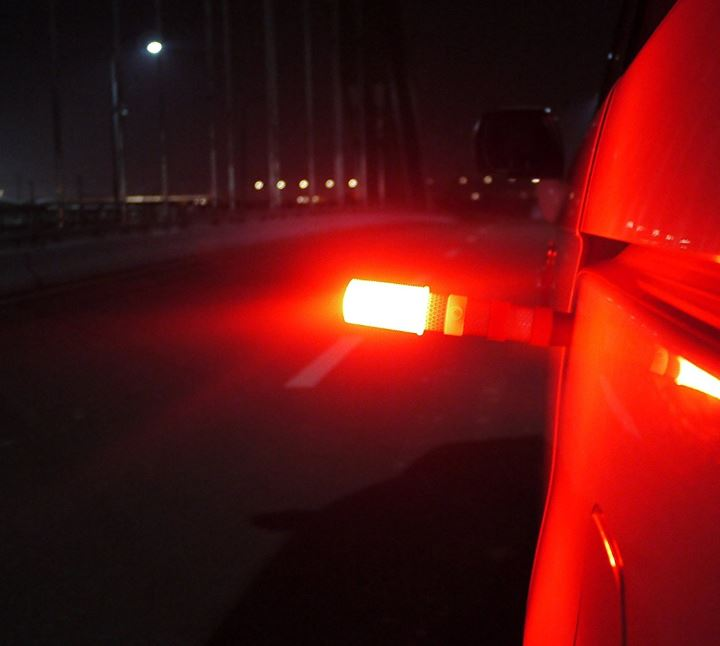 Wislight Red LED Emergency Roadside Flares