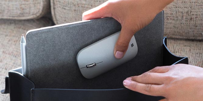 Review of the Microsoft Surface Mobile Mouse - Nerd Techy