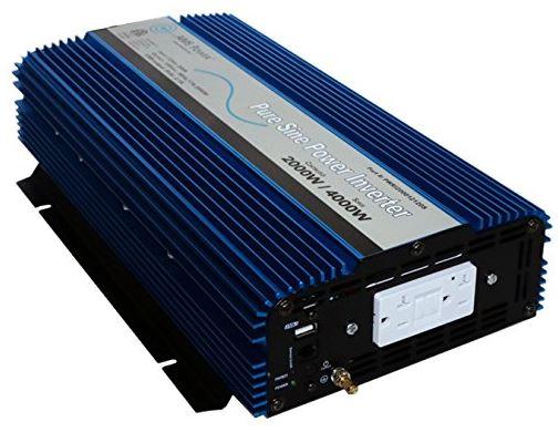 AIMS 2000 Watt Pure Sine Power Inverter