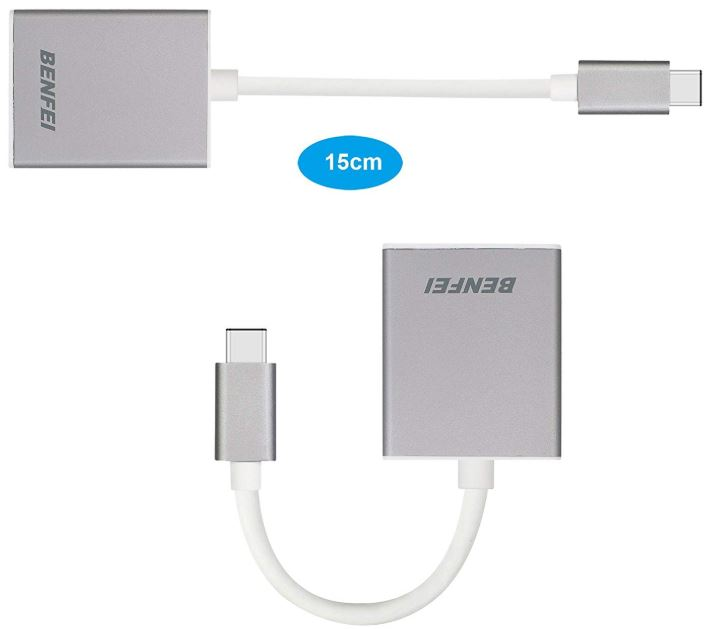 Benfei USB Type-C to VGA Adapter