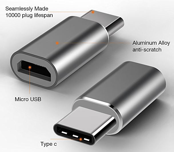 BrexLink Micro USB to USB-C Adapter
