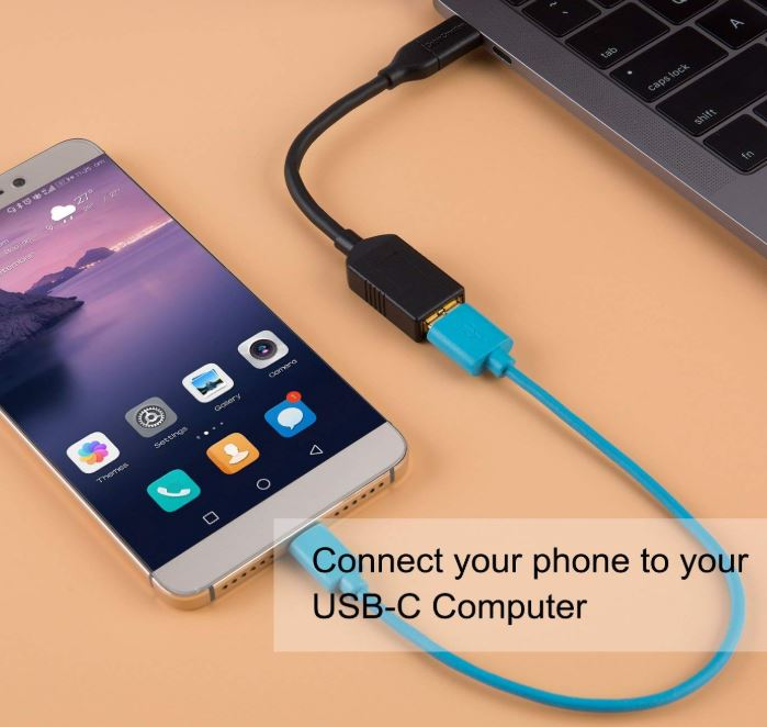 CableCreation USB-C to USB 3 Female Adapter