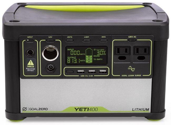 Goal-Zero-Yeti-400-Lithium