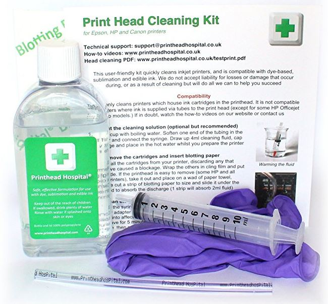 Printhead Hospital Cleaning Kits
