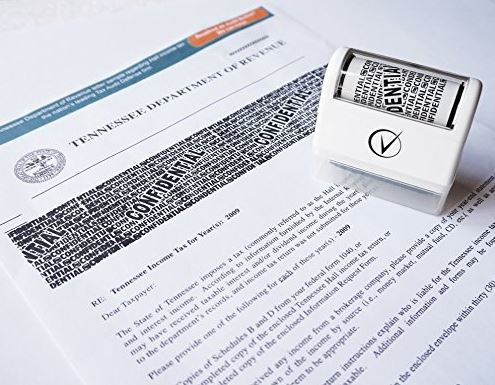 Vantamo Identity Theft Protection Roller Stamp