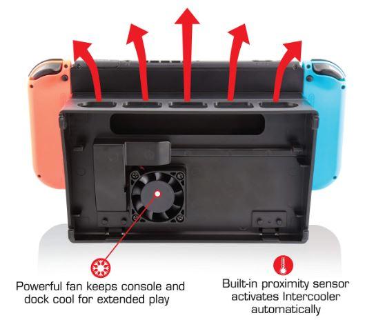 Nyko Intercooler for Nintendo Switch