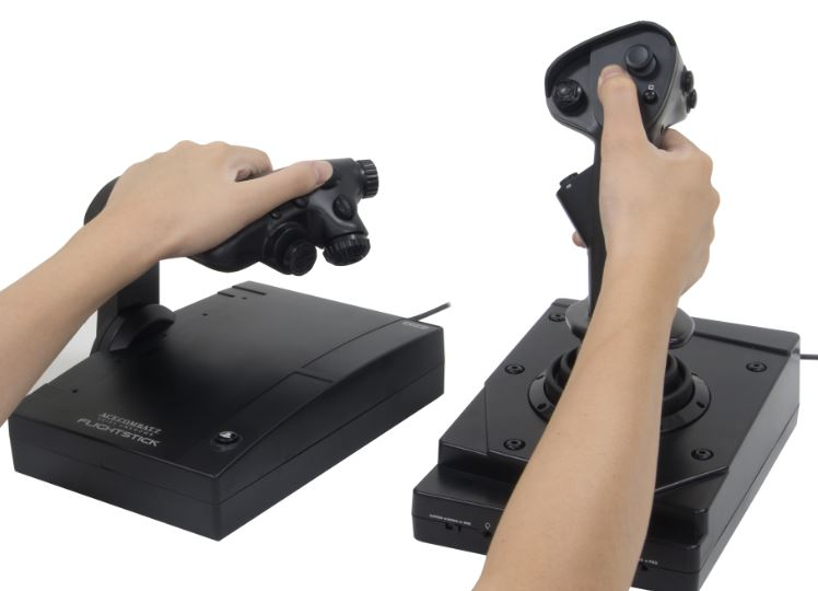 First Look Review Of The Hori Ace Combat 7 Hotas Flight Stick