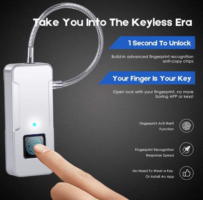 SZHSR Fingerprint Lock