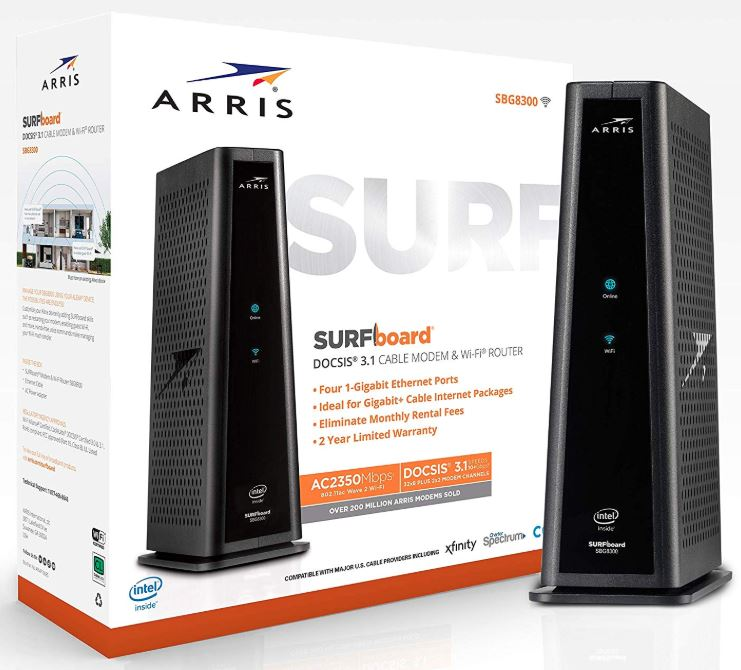 ARRIS Surfboard SBG8300
