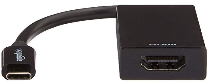 AmazonBasics USB Type-C to HDMI Adapter