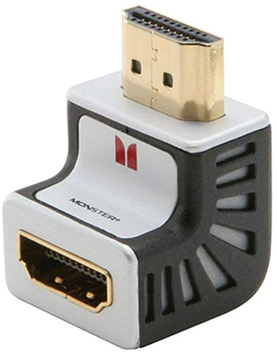 Monster Ultra-High Performance HDMI Right-Angle Adapter