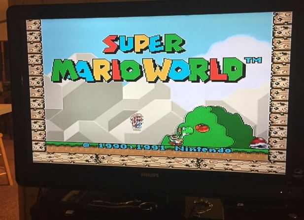 super mario world nes