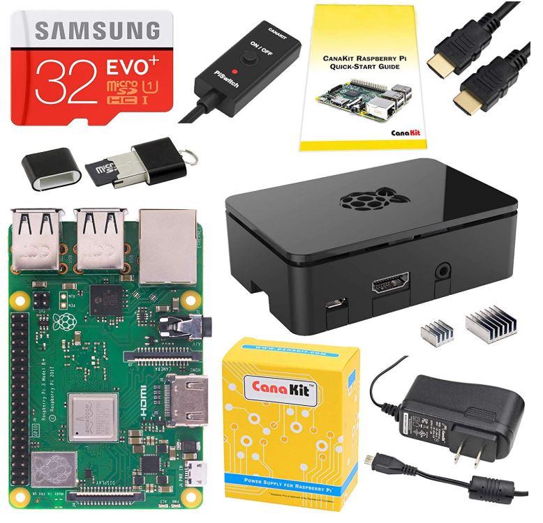 CanaKit Raspberry Pi 3 B plus Starter Kit