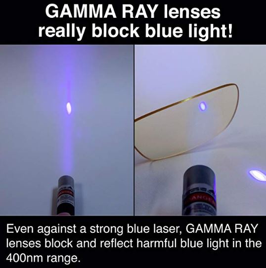 GAMMA RAY 003 Anti Blue Light Computer Glasses