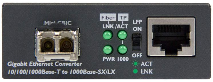 StarTech Gigabit Ethernet Fiber Media Converter