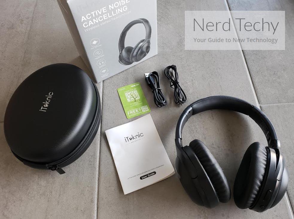 iTeknic Over Ear Bluetooth Headphones