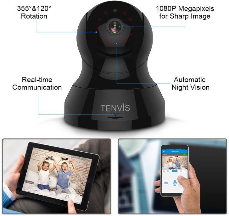 TENVIS 1080P IP Camera
