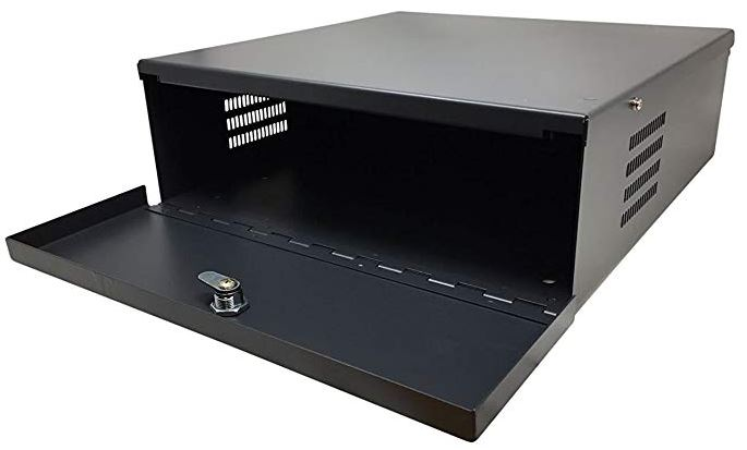 HDView Heavy Duty 16 Gauge DVR Security Lockbox