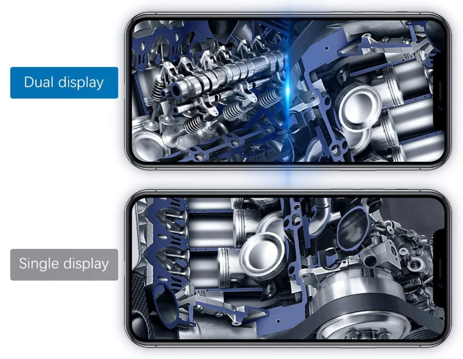 KZYEE Dual-Lens Endoscope