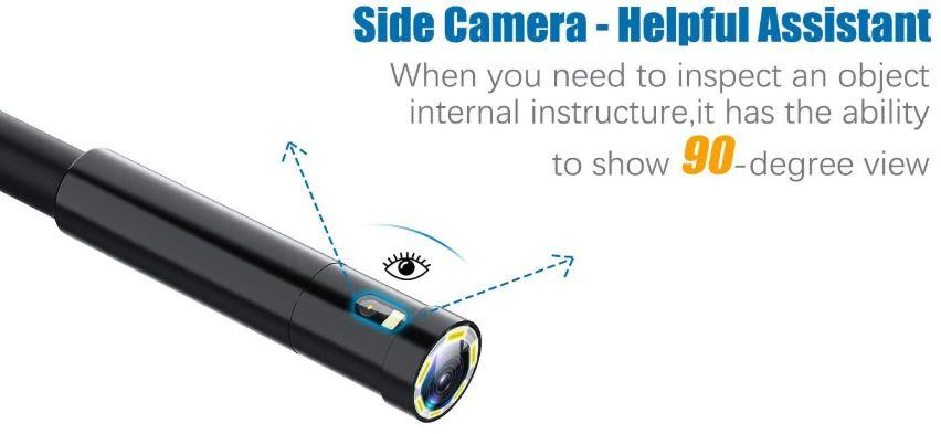 Oiiwak Dual-Lens Endoscope