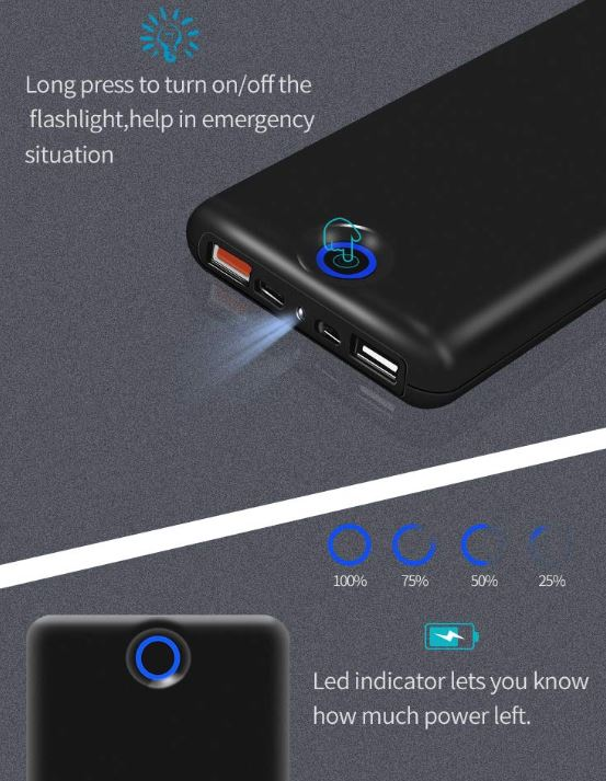 Solice 20000mah Portable Charger