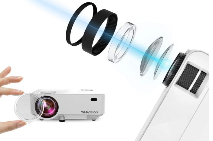 Topvision 2400lux Mini Projector Review Nerd Techy