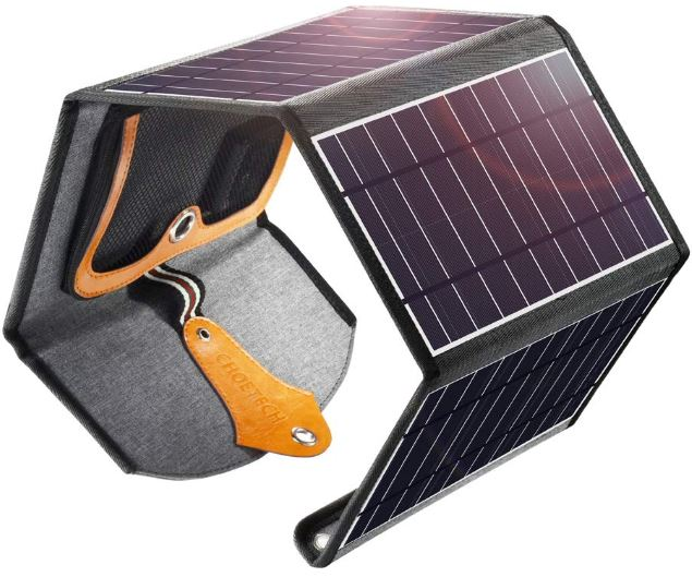 CHOETECH 24W Portable Solar Charger