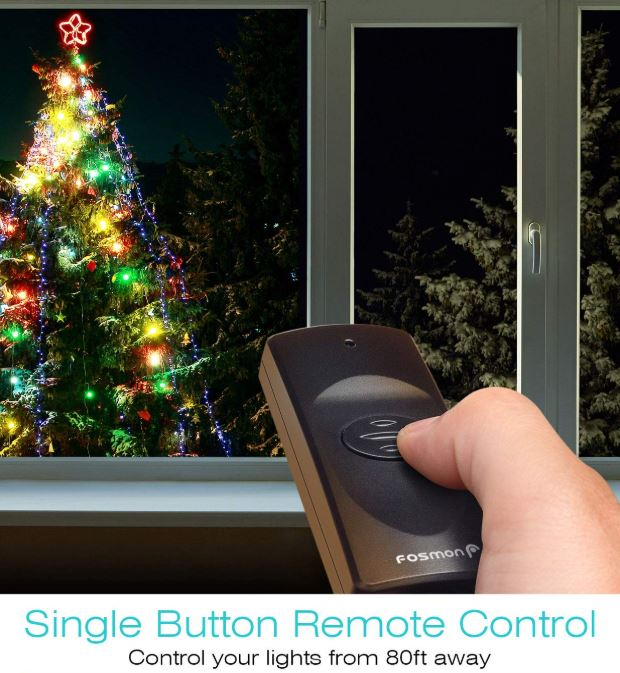 Fosmon Wireless Remote Control Outlet