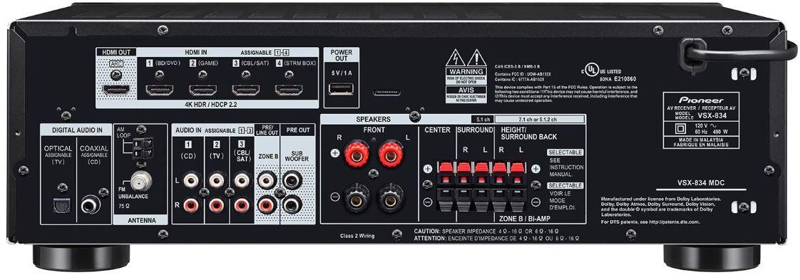 Pioneer VSX-834