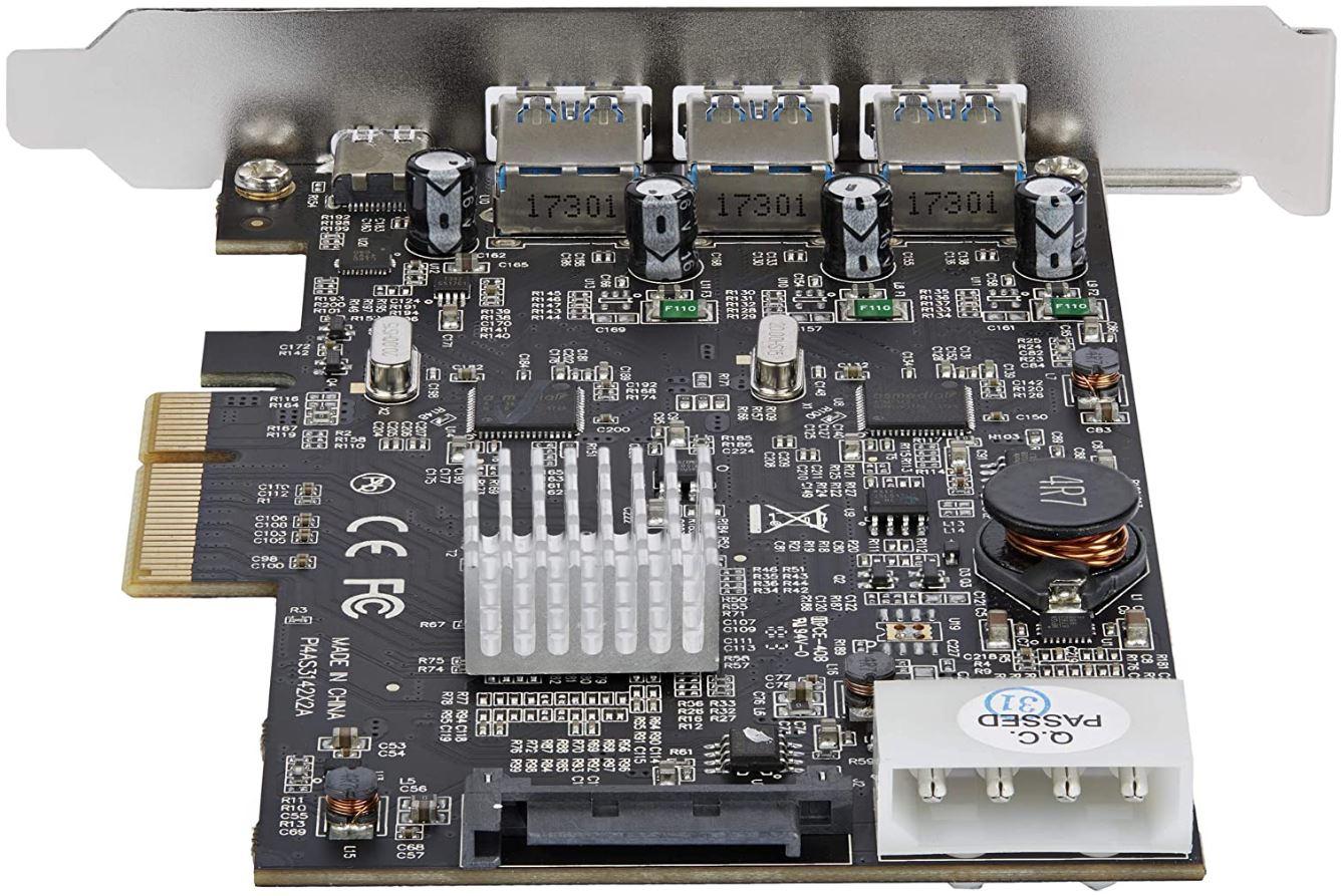 StarTech.com USB 3.1 PCIe Card