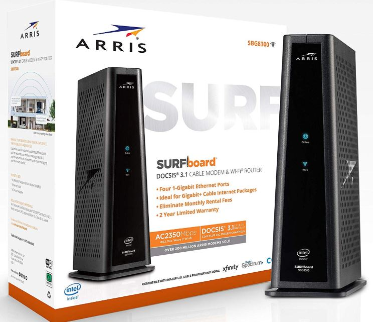 Review of the ARRIS Surfboard (SBG8300) Cable Modem Router Combo