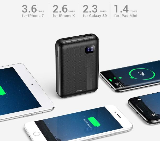 Ainope Portable Charger 10000 MAH