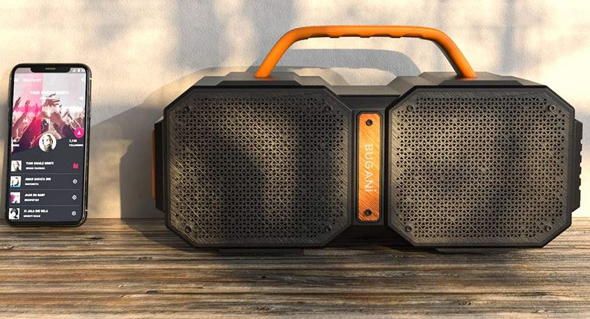 BUGANI Outdoor Bluetooth Speaker