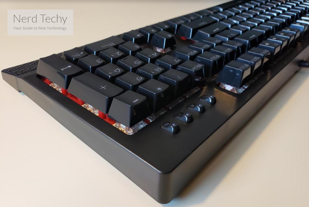 VicTsing Backlit Mechanical Gaming Keyboard