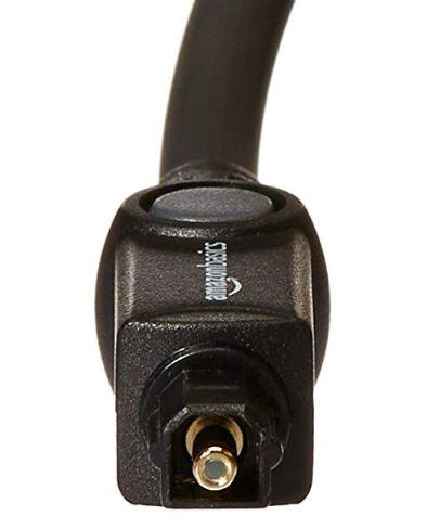 AmazonBasics Digital Optical Audio Toslink Cable