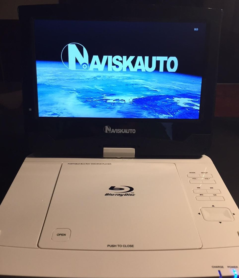 NAVISKAUTO Portable Blu Ray Player