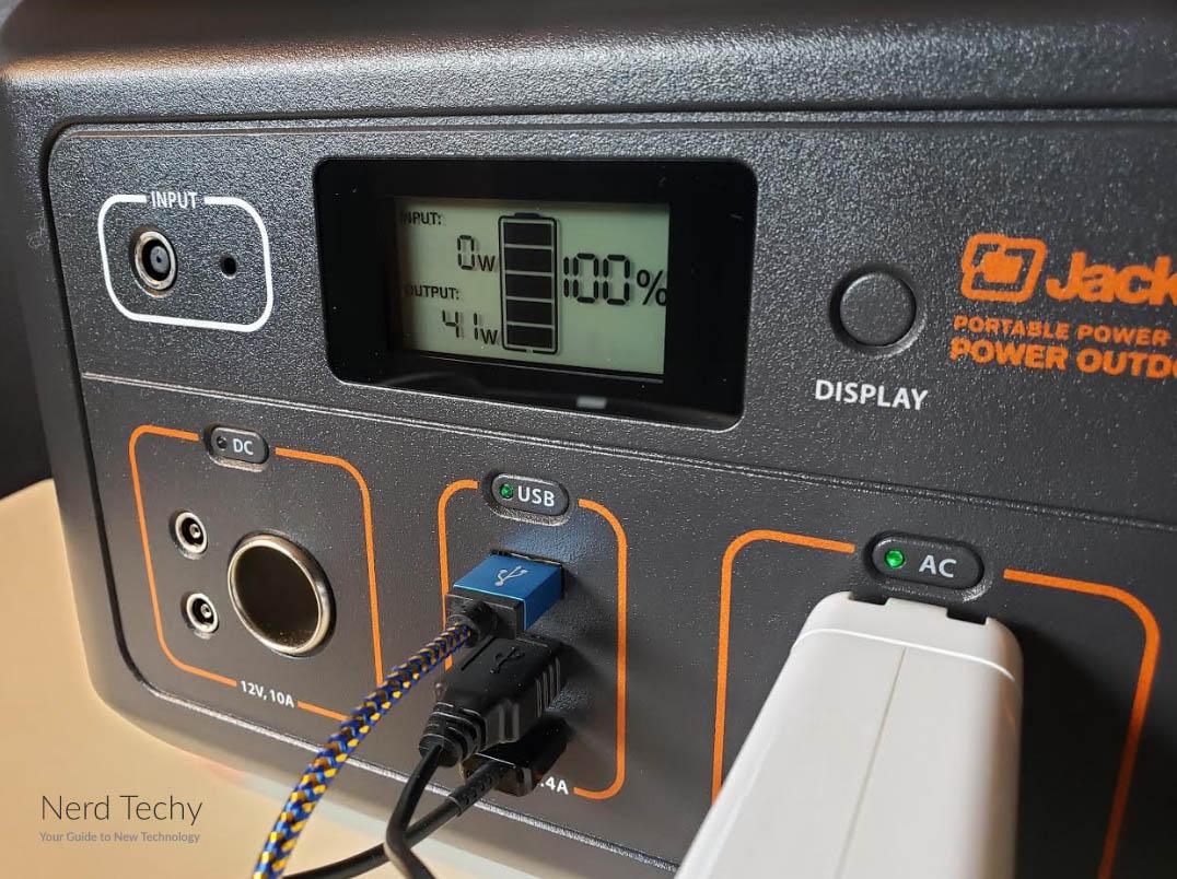 Jackery 500 LED Display Screen