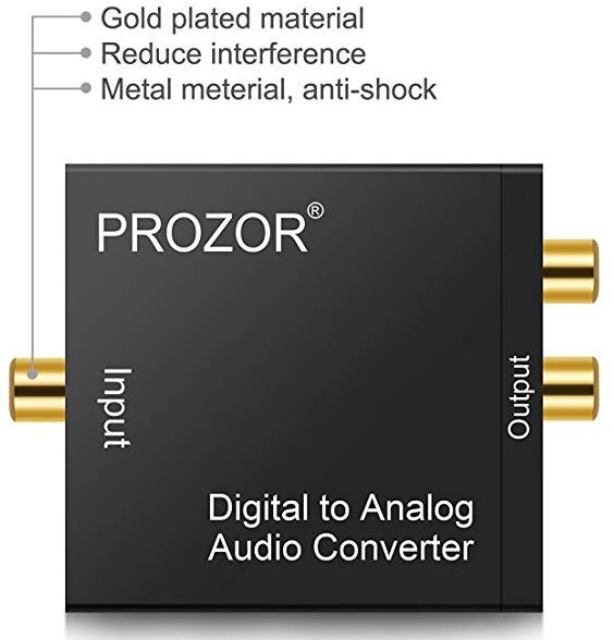 Prozor Digital to Analog Converter