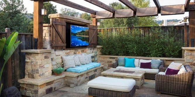 Outdoor Tv Enclosure Cover