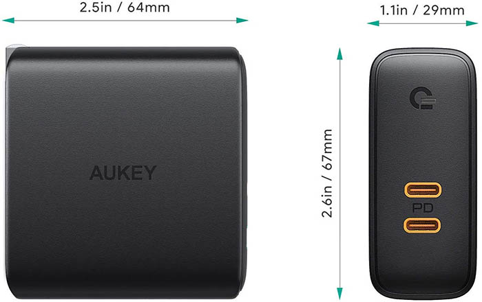 AUKEY USB-C (PA-D5)
