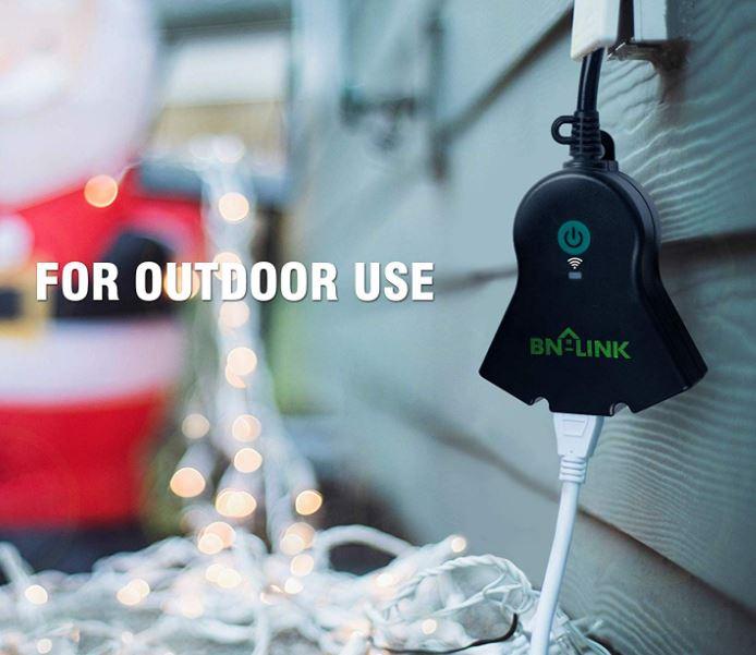 BN-LINK Smart WiFi Heavy Duty Outdoor Outlet