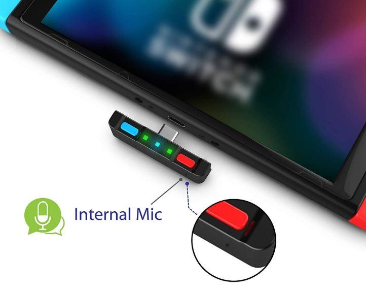 HomeSpot Bluetooth Transmitter for Nintendo Switch