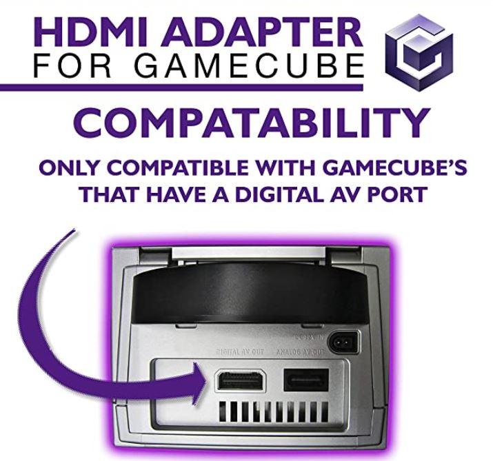 Kaico GameCube HDMI Adapter